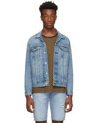 Levi's - Blue Denim Trucker Jacket - Lyst