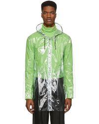 Stutterheim - Transparent Stockholm Raincoat - Lyst