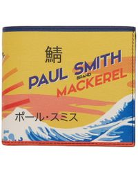 Paul Smith - Multicolor Mackerel Can Bifold Wallet - Lyst