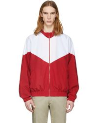 Noon Goons - Red And White Mall Jogger Jacket - Lyst