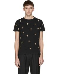 Marc Jacobs - Embroidered Palm Tree T-shirt - Lyst