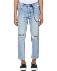 Ksubi - Blue Chitch Chop Punk Pin Jeans - Lyst