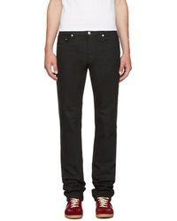 A.P.C. - Black New Standard Jeans - Lyst
