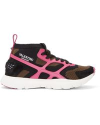 Valentino - Multicolor Garavani Sound High-top Sneakers - Lyst