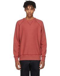 Rag & Bone - Red Racer Sweatshirt - Lyst