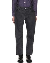 Sasquatchfabrix - Black Tapered Jeans - Lyst