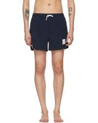 Thom Browne | Navy Classic Swim Shorts | Lyst