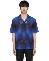 Dries Van Noten - Blue Verner Panton Edition Sequin Carlton Shirt - Lyst