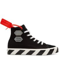Off-White c/o Virgil Abloh - Hi-top Trainers - Lyst