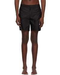 Prada - Black Swim Shorts - Lyst