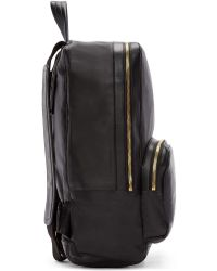Pierre Hardy | Black Leather Backpack | Lyst