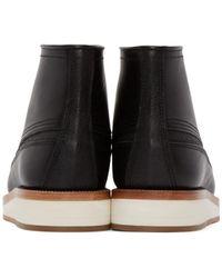 Sacai - Black Leather Hender Scheme Edition Boots - Lyst