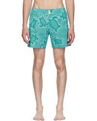 Vilebrequin - Blue Merise Tortue Hypnotoques Swim Shorts - Lyst