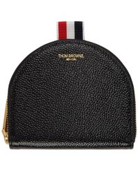 Thom Browne - Black Small Vanity Coin Pouch - Lyst