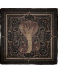 Givenchy - Black Cobra Scarf - Lyst