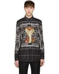 Givenchy - Black Cobra Shirt - Lyst