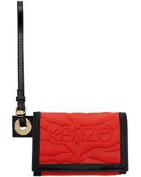 KENZO - Red Kombo Wallet - Lyst