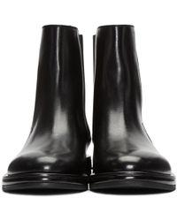 CALVIN KLEIN 205W39NYC - Black Craig Boots - Lyst