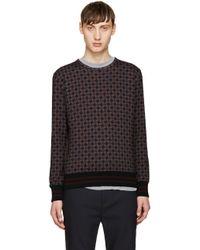 Giuliano Fujiwara - Multicolour Pattern Sweatshirt - Lyst