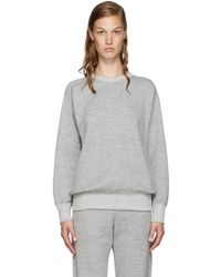 Hyke - Grey French Terry Pullover - Lyst