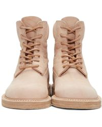 Hender Scheme - Beige Manual Industrial Products 14 Boots - Lyst
