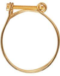 Ribeyron - Gold Screw Bracelet - Lyst
