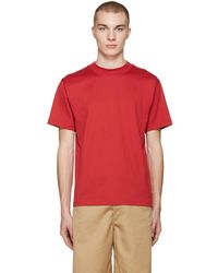 Acne Studios - Red Naples T-shirt - Lyst