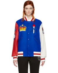 Opening Ceremony - Blue United Kingdom Global Varsity Jacket - Lyst