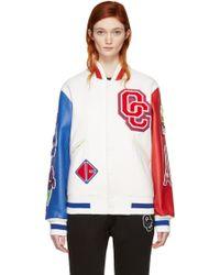 Opening Ceremony - White France Global Varsity Jacket - Lyst