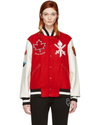 Opening Ceremony - Red Canada Global Varsity Jacket - Lyst