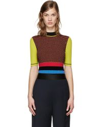 Opening Ceremony - Multicolour Striped Turtleneck - Lyst