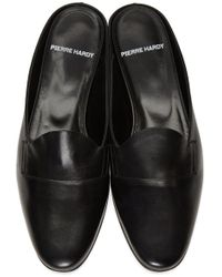 Pierre Hardy - Black Jacno Mule Loafers - Lyst