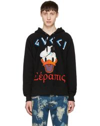 gucci hoodie with donald duck