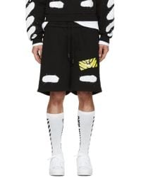 Shop Men's Off-White c/o Virgil Abloh Shorts from $162 | Lyst