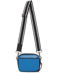 Givenchy - Blue And White Mc3 Crossbody Bag - Lyst