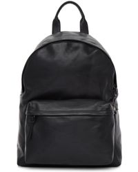 Officine Creative - Black Leather Oc Pack Backpack - Lyst