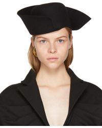 Jacquemus - Black 'le Chapeau Vallauris' Hat - Lyst