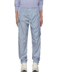 Givenchy - Blue Nylon Jogging Lounge Trousers - Lyst
