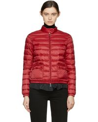 0c91c028578a Moncler Lans Padded Jacket in Blue - Lyst