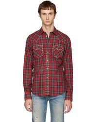 Dolce & Gabbana - Red Western Shirt - Lyst