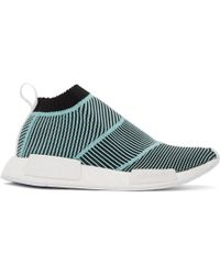adidas Originals - Black And Blue Nmd Cs1 Parley Pk Trainers - Lyst