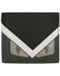 Fendi - Tricolor Bag Bugs Wallet - Lyst