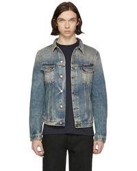 Nudie Jeans - Indigo Denim Billy Shimmering Indigo Jacket - Lyst