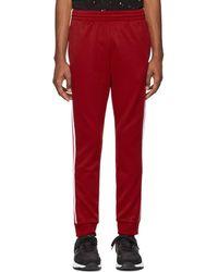adidas Originals - Red Sst Track Pants - Lyst