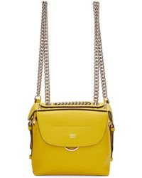 Fendi | Yellow Mini 'back To School' Backpack | Lyst