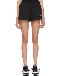 Nike - Black Fleece Shorts - Lyst
