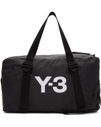 Y-3 - ブラック バンジー ジム バッグ - Lyst