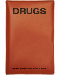 Raf Simons - Orange Zipped Book Pouch - Lyst