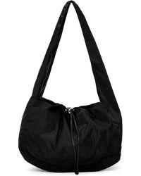 Kara - Black Nylon Cloud Bag - Lyst
