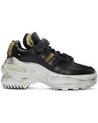 Maison Margiela - Black Chunky Sneakers - Lyst